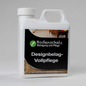 Bodenschatz-Designbelag-Vollpflege